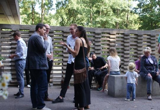 Autor*innen im Gespräch mit dem Publikum (Foto: Julia Hauck)
