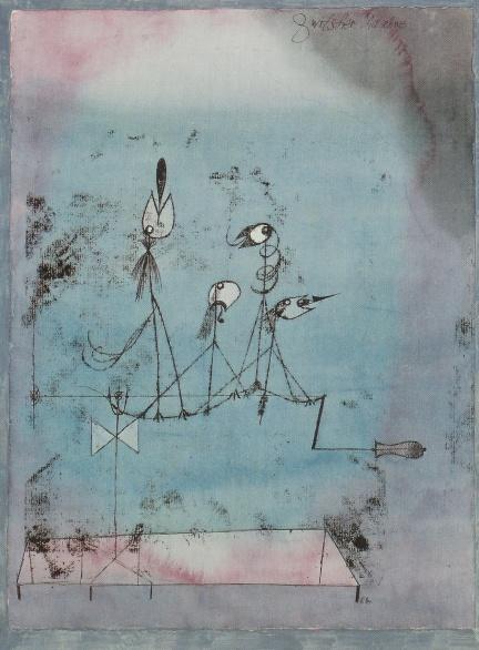 Paul Klee - Zwitschermaschine (1922)