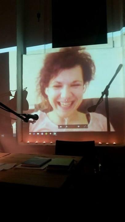 Kinga Tóth war per Videostream live dabei.